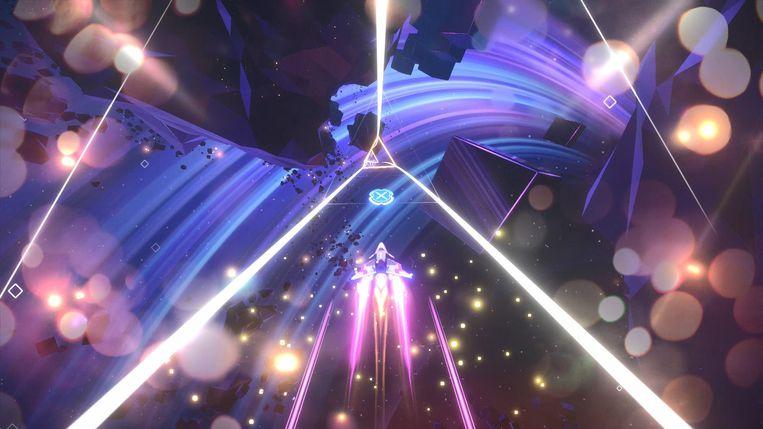 De game 'Avicii Invector'. Beeld