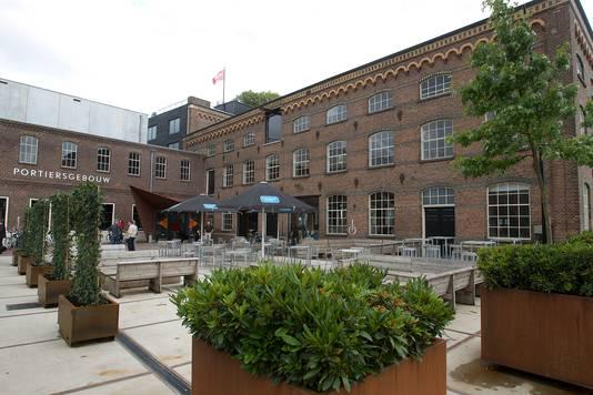 De hoofdingang van de DRU Cultuurfabriek in Ulft.