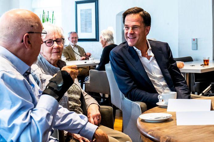 Premier Rutte bracht twee jaar geleden een werkbezoek aan het Bartholomeus Gasthuis.