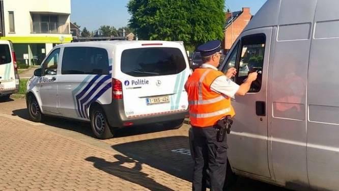 Illegaal aangetroffen tijdens verkeerscontrole