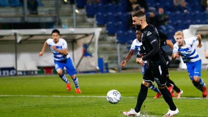 Vloet voelt zich vreselijk na mislukte penalty: 'Ik heb ploeg, supporters en club in de steek gelaten'