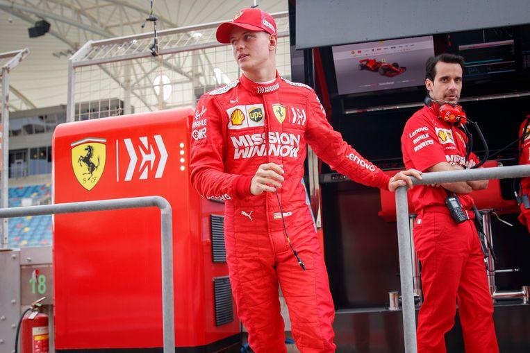 Schumacher rijdt dit seizoen voor Ferrari in de Formule 2.