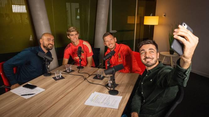 """Jan Vertonghen in HLN Sportcast over de speciale connectie met Charles De Ketelaere: """"Wij hebben wel iets samen"""""""
