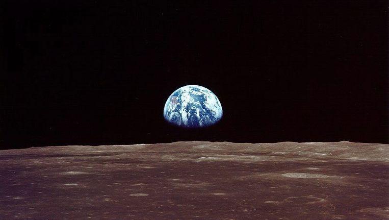 NASA zou bezig zijn met plannen voor een ruimtestation aan de andere kant van de maan Beeld ANP