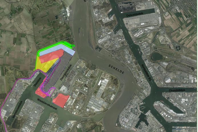 Het nieuwe plan voor de havenuitbreiding voorziet een containerdok met een knik dat het Scheldedorp Doel volledig vrijwaart maar er is toch andermaal protest gerezen.