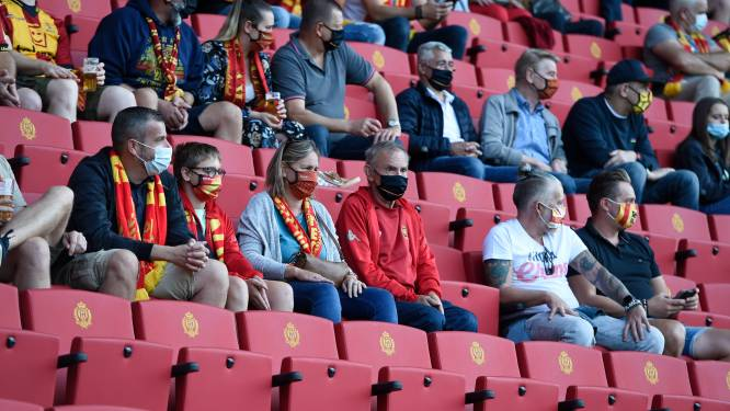 """Vanaf speeldag 4 weer volle stadions, maar Union en KV Mechelen missen wel een toprecette: """"Al lang blij dat er weer volk binnen mag"""""""