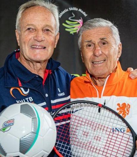 Westlandse ouderen mogen tennissen met Tom Okker