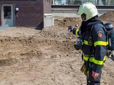 Gaslek na bestratingswerkzaamheden in Oosterhout