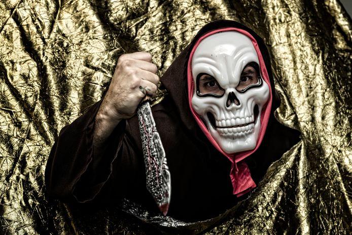 De Halloween Walk gaat vooraf aan het Thrillerfestival.