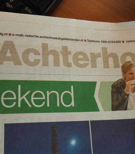 Verkeerde pagina's in editie Achterhoek