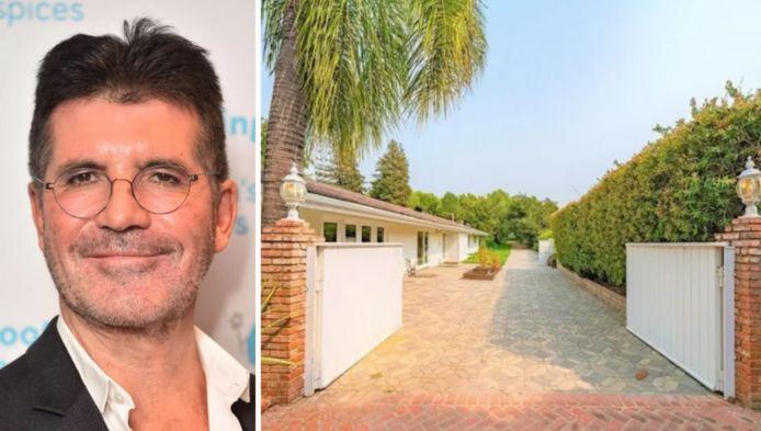 Simon Cowell verkoopt villa met verlies.