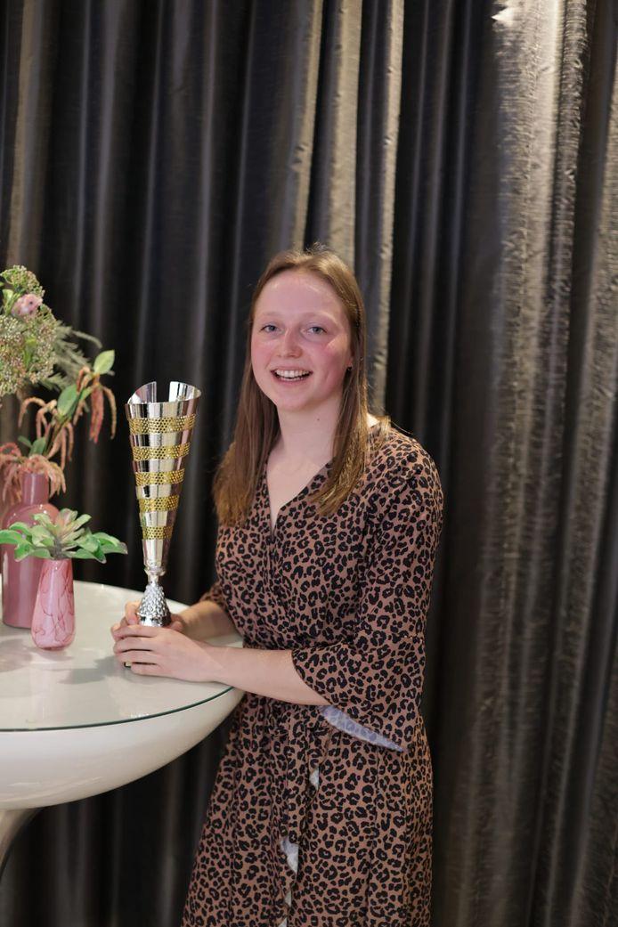 Rookie van het jaar: Belgian Womens Volley League: Britt Rampelberg.