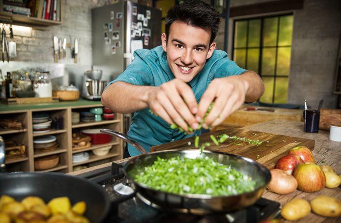 Een blik op de keuken van Loïc