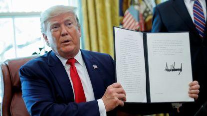 Trump kondigt zware sancties aan tegen Iraanse ayatollah Khamenei