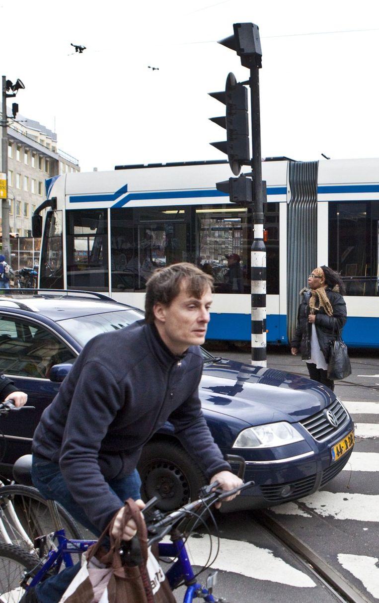 Aanpak van het Muntplein moet een einde maken aan de kluwen van verkeersstromen. Beeld Floris Lok