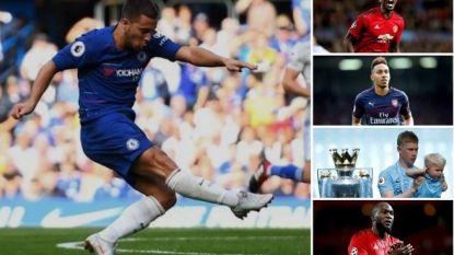 Tussen Pogba, De Bruyne en Lukaku? Eden Hazard kan straks weer wat hoger in top tien van topverdieners in de Premier League sluipen