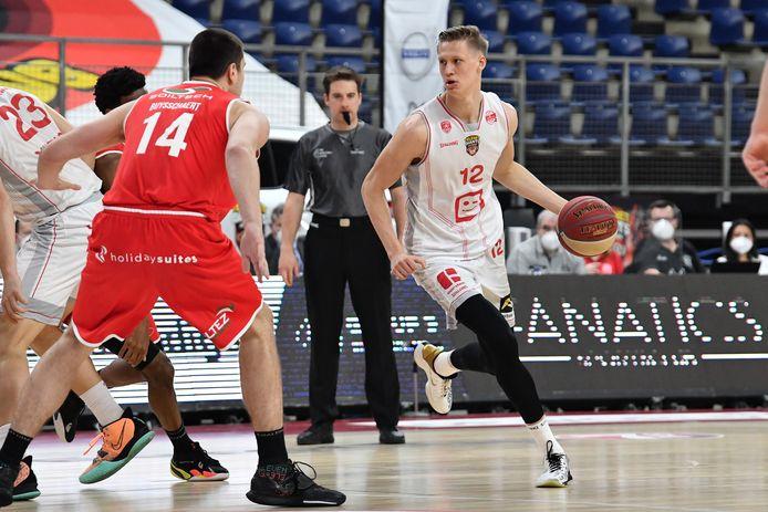 Vrenz Bleijenbergh bereidt zich in Miami voor op de work-outs bij NBA-ploegen.