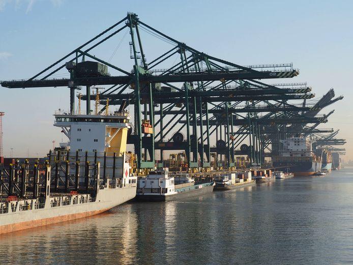 Le port d'Anvers.