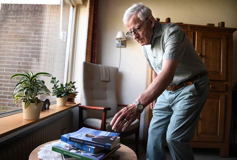 Anne Tolsma (84) zou nu op Pieter Omtzigt en zijn eventuele nieuwe partij stemmen. Beeld Marcel van den Bergh