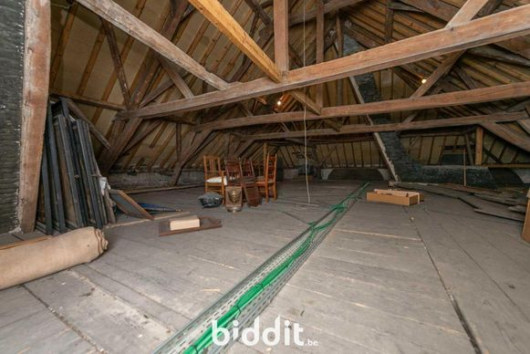 Een binnenbeeld van de dekenij Evergem.