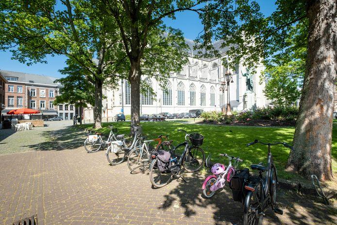 Het Kardinaal Mercierplein valt zondag in de autovrije zone.