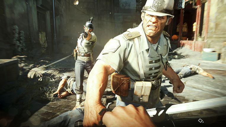 Een beeld uit 'Dishonored 2'. Beeld Bethesda Softworks
