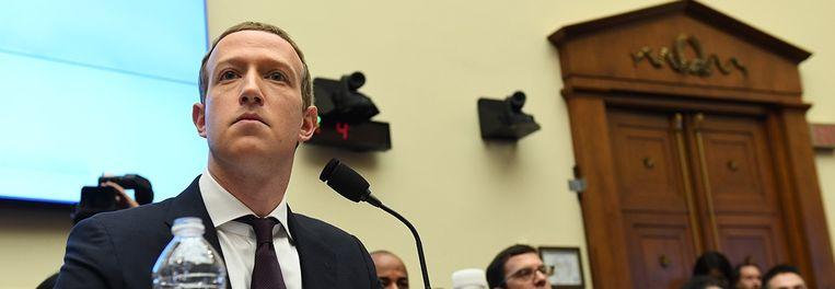 Mark Zuckerberg. Beeld