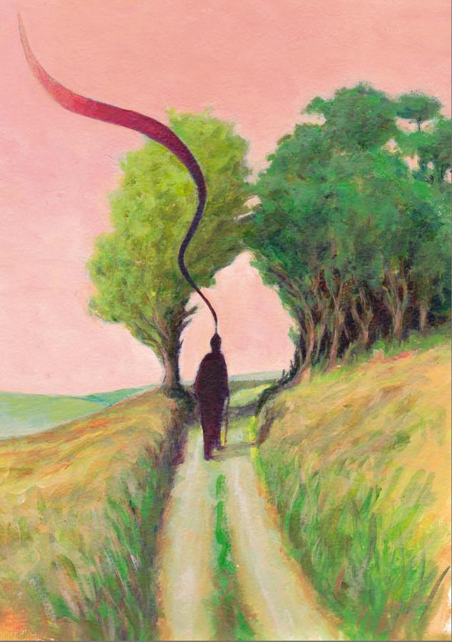 ,,Het wordt een tammende weg met fijn en schik en zolf.''