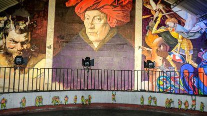 Oude Delhaize voortaan graffitiwalhalla