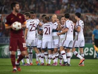 Machteloos AS Roma niet opgewassen tegen pletwals Bayern München: 1-7