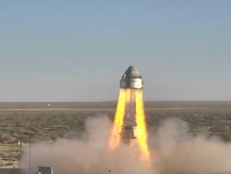 Geslaagde noodtest voor 'Starliner', de ruimtecapsule van Boeing die astronauten naar het ISS moet brengen