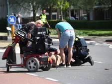 Bestuurder scootmobiel gewond na aanrijding in Woerden
