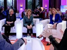 Alle pijlen op de VVD, ook bij de dames