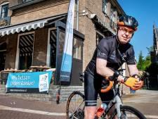 Jacco blijft 'om de hoek' fietsen tegen kanker