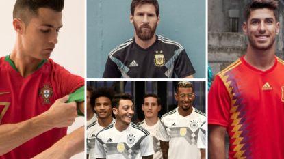Van een gouden randje bij de Europees kampioen tot tal van retro-looks: welk WK-tenue is uw favoriet?