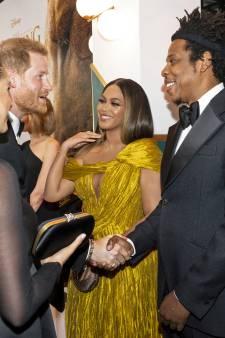 Beyoncé hield zich niet aan de regels bij ontmoeting met royals