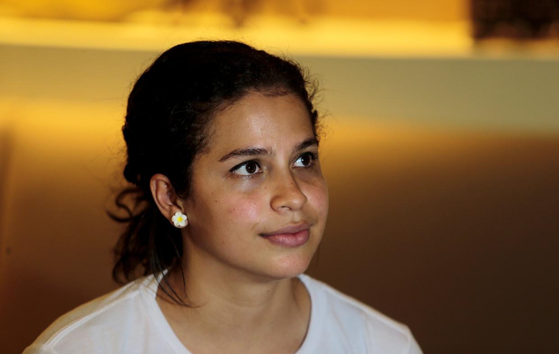 Amaya Coppens: 'Elke dag kan ik gekidnapt of vermoord worden' Beeld OSWALDO RIVAS