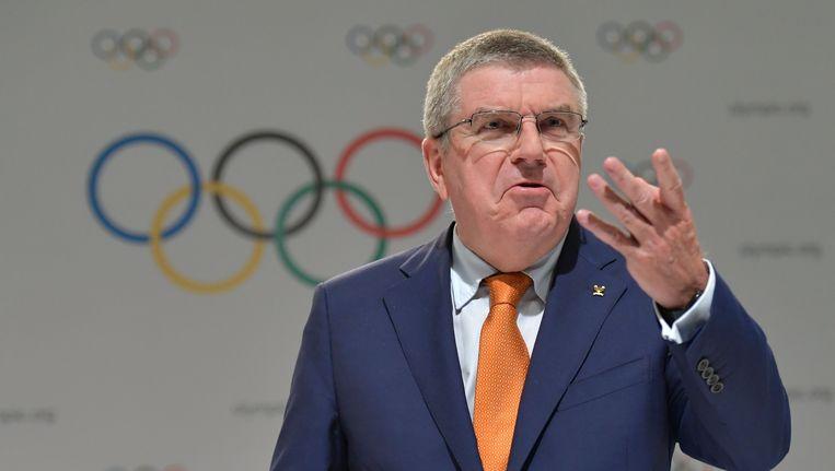IOC-voorzitter Thomas Bach. Beeld afp