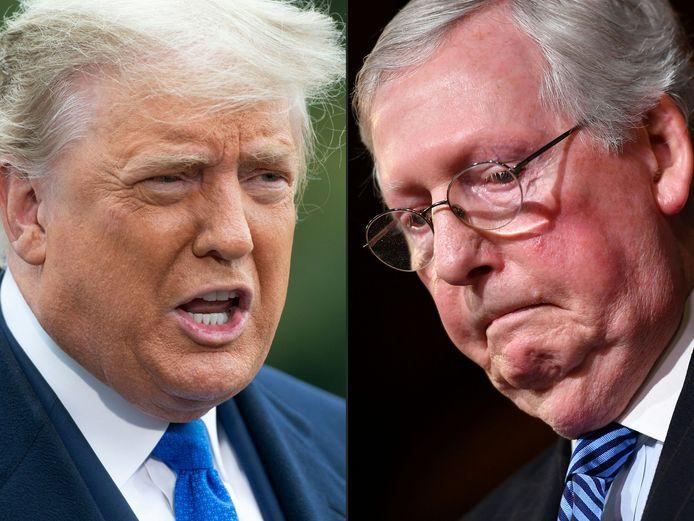 Donald Trump s'est montré particulièrement grossier envers le chef des républicains au Sénat Mitch McConnell.