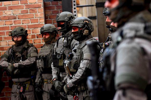 Enkele leden van het Special Forces team.