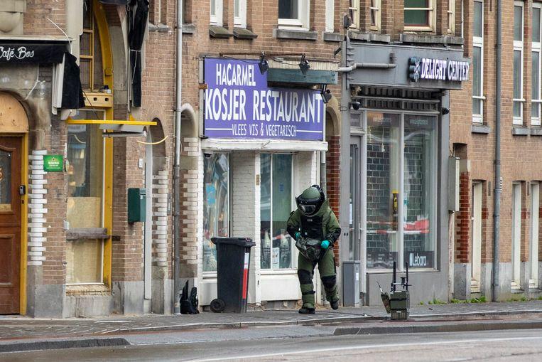 Restaurant HaCarmel was het doelwit van meerdere bedreigingen. Beeld ANP