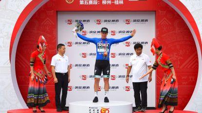 Ackermann wint slotrit in Ronde van Guangxi, eindwinst is voor Mas