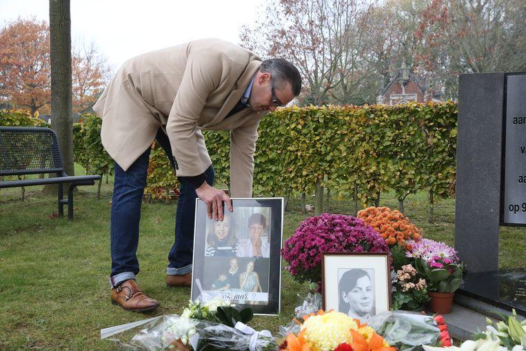 Herdenking in Aalst voor slachtoffers bende van Nijvel. Dit in aanwezigheid van ondermeer Min. Geens en Proc. Gen. Christiaan De Valkeneer. David Van Steen