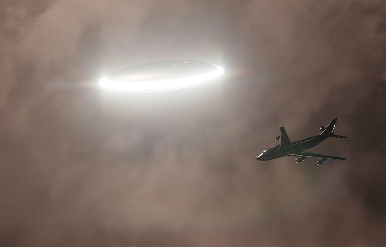 Piloten melden vliegende tuigen die een helder licht verspreiden en sneller konden vliegen dan hun toestellen. Foto ter illustratie.