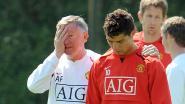 """Ronaldo over Ferguson bij Man U: """"Hij zei me: 'Ik wil dat je rugnummer 7 draagt'"""""""