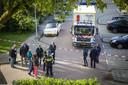 Politie-onderzoek na de liquidatie in Buitenveldert.