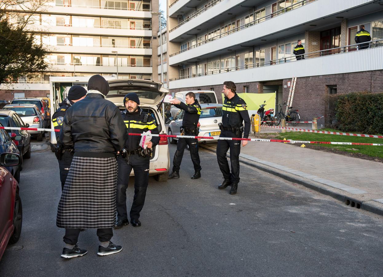 Hakim Chengachi werd donderdagnacht doodgeschoten