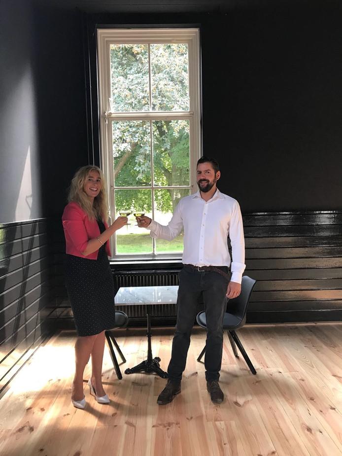 Laurens Jongenotter en Kirsten Gieben.