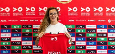 PSV strikt Portugese aanvalster Ana Capeta