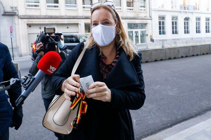 Staatssecretaris voor Begroting Eva De Bleeker.